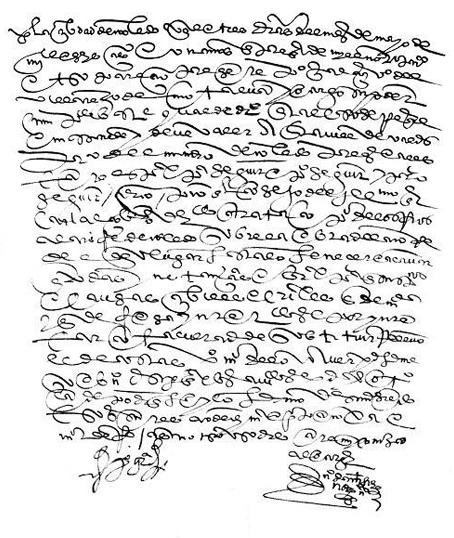 año del señor de 1607