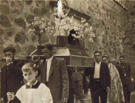 Anastasio de procesión