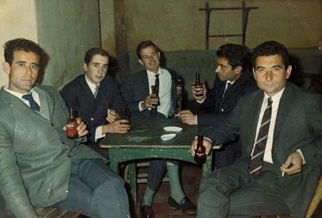 Antonio, Gerardo, Ramón, Ángel y Pepe